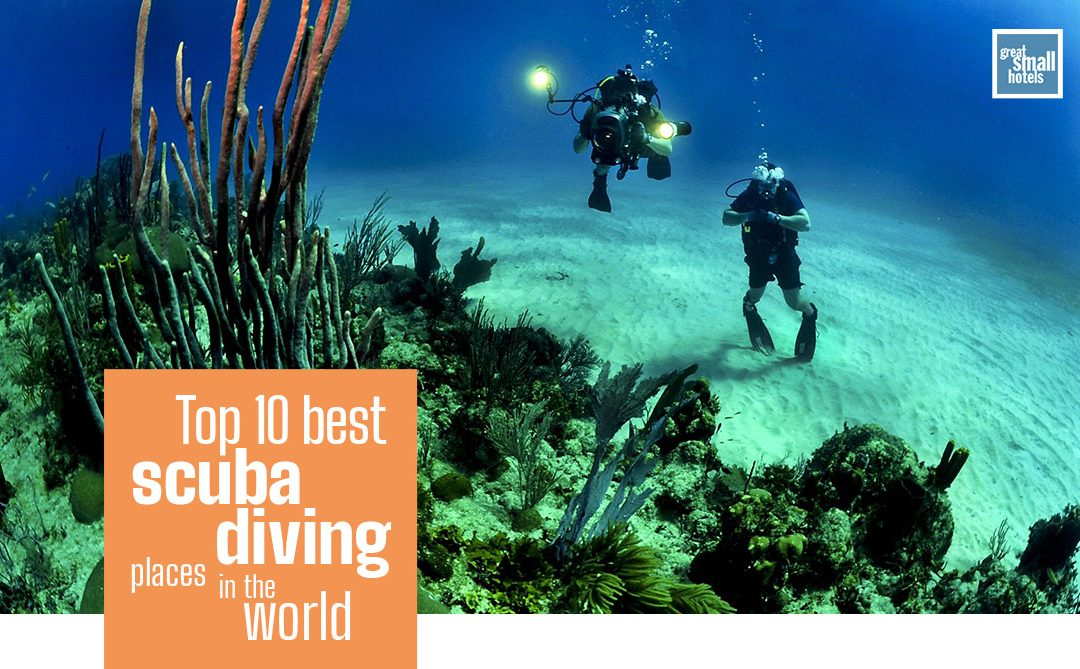 best scuba diving places in the world
