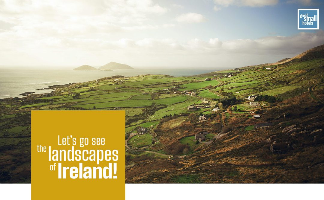 Let´s go see the landscapes of Ireland!