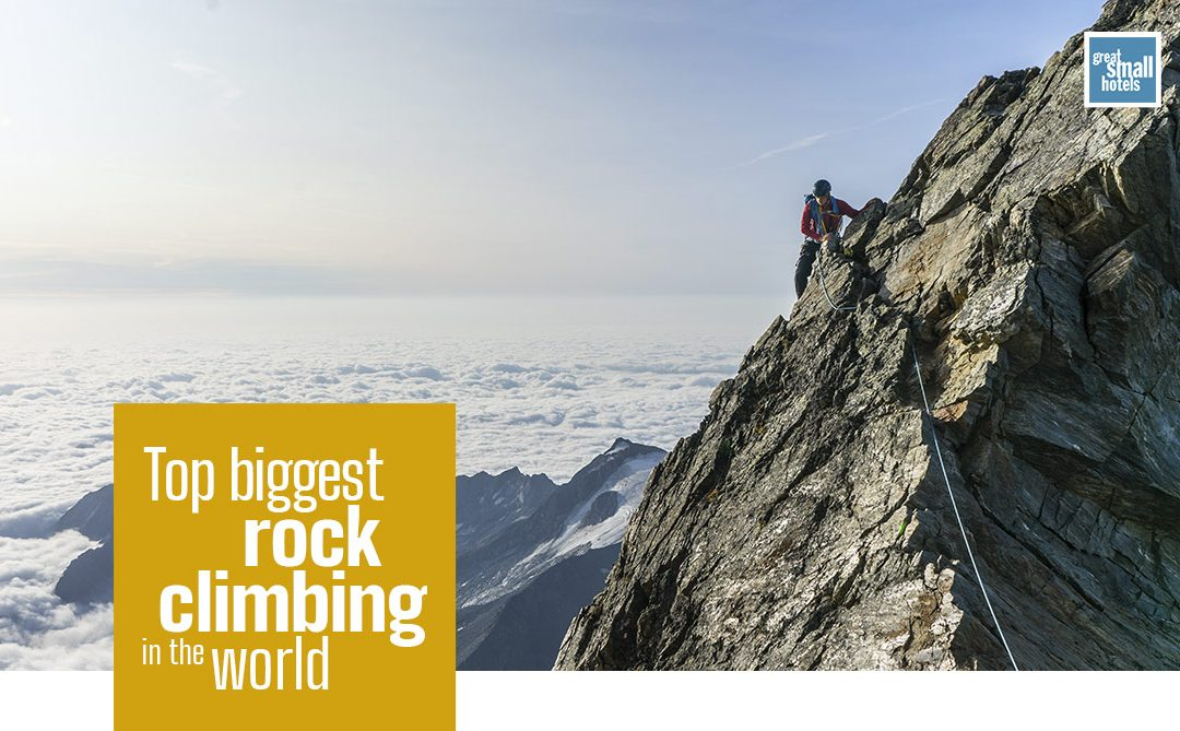The biggest rock climbing in the world