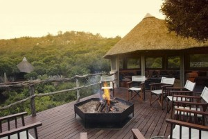 Terrace - Lalibela Game Reserve - Driekoppen, Eastern Cape, SOUTH AFRICA