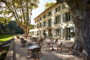 Facade - Domaine de Fontenille - Lauris, Provence-French Riviera, FRANCE