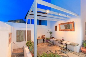 Courtyard - F Charm Hotel - Rhodes, Dodecanese Islands, GREECE