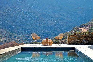 Private pool - Onar Andros - Andros, Cyclades Islands, GREECE