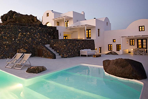 Exterior - Aenaon Villas - Santorini, Cyclades Islands, GREECE