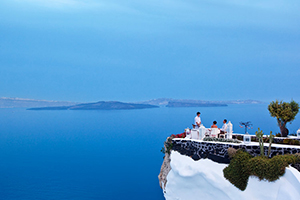 Restaurant - Andronis Luxury Suites - Santorini, Cyclades Islands, GREECE