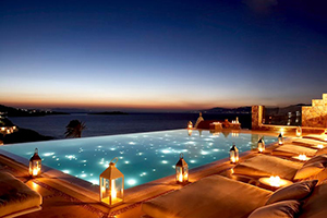 Pool - Bill & Coo All Suites Hotel - Mykonos, Cyclades Islands, GREECE