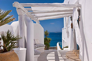 Entrance - Harmony Boutique Hotel - Mykonos, Cyclades Islands, GREECE