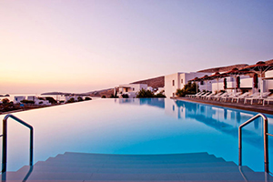 View from Anemi Pool - Anemi Hotel - Folegandros, Cyclades Islands, GREECE