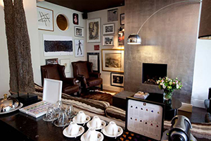Lounge - Hotel Roemer - Amsterdam, North Holland, NETHERLANDS
