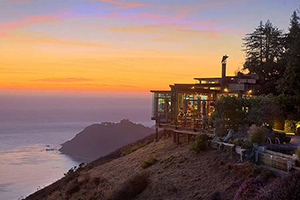 Sunset View - Post Ranch Inn - Big Sur, California, UNITED STATES