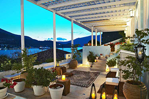 Terrace - Perantzada 1811 Art Hotel - Ithaca, Ionian Islands, GREECE