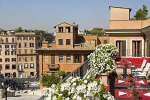 Terrace - Il Palazzetto - Spanish Steps, Rome, ITALY