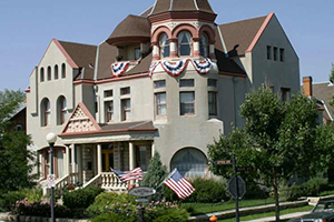 Facade - Nagle Warren Mansion - Cheyenne, Wyoming, ESTADOS UNIDOS