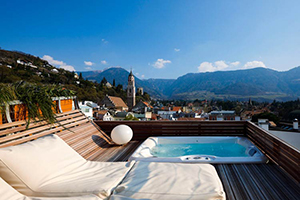 Private Terrace - Art & Design Boutique Hotel ImperialArt - Merano, Trentino Alto Adigio, ITALIA