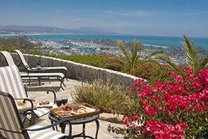 Terrace - Blue Lantern Inn - Dana Point, California, ESTADOS UNIDOS