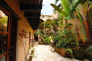 Courtyard - El Beaterio - Santo Domingo, DOMINICAN REPUBLIC