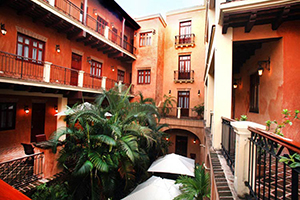 Courtyard - Boutique Hotel Palacio - Santo Domingo, DOMINICAN REPUBLIC