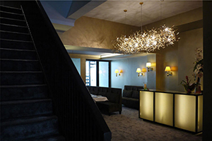 Entrance - Hotel Neufchatel - Brussels, Brussels Province, BELGIUM