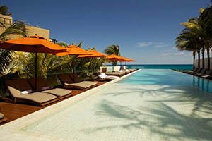 Swimming Pool - Hotel Secreto - Isla Mujeres, Quintana Roo, MEXIQUE