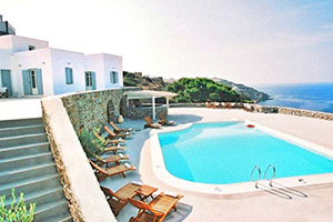 General View - Pino di Loto Boutique Bed & Breakfast - Syros, Cyclades Islands, GREECE