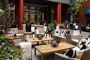 Interior Courtyard - Hotel Haven - Helsinki, FINNLAND