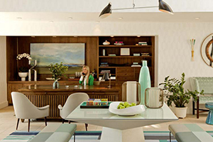 Front Desk - Oceana Beach Club Hotel - Santa Monica, California, UNITED STATES