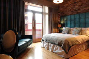 Balcony King Room - Velvet Hotel - Manchester, Lancashire, UNITED KINGDOM