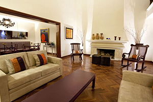 Living Room - El Golf Hotel Boutique - Lima, PERÚ