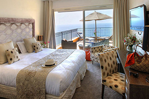 Deluxe Room - Hotel La Perouse - Nice, Provence-French Riviera, FRANCE