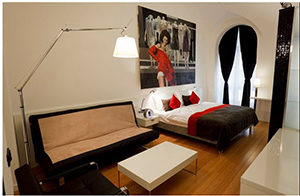 Suite 102 - Bohem Art Hotel - Budapest, Central Hungary, HUNGARY