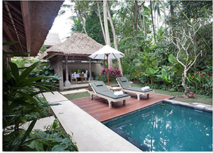 Villa with Pool - Puri Sunia Resort - Ubud, Lesser Sunda Islands, INDONESIA