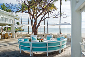 Beach Club Pavilion - Fisher Island Club - Fisher Island, Florida, ESTADOS UNIDOS