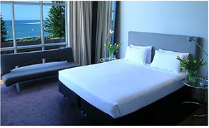 King Room with Ocean View - Dive Hotel - Sydney, New South Wales, AUSTRALIA