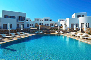 Swimming Pool - Mar Inn Hotel - Folegandros, Cyclades Islands, GREECE