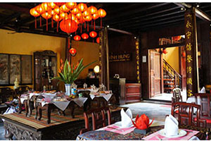 Dining Room - Vinh Hung 1 Heritage Hotel -