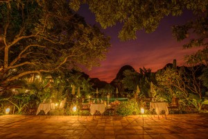 Exterior Dining Room - Tam Coc Garden Resort -