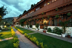 Facade - Grand View Hotel - Dalhousie, Himachal Pradesh, INDIA