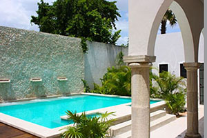 Pool - The Diplomat Boutique Hotel - Merida, Yucatán, MEXIKO