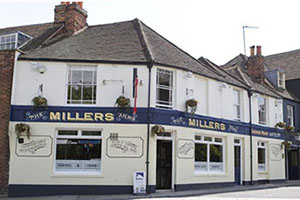 Facade - The Millers Arms Inn - Canterbury, Kent, UNITED KINGDOM