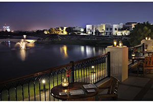 Exterior Dining Room - The Address Montgomerie Dubai -