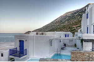 Facade - Delfini - Sifnos, Cyclades Islands, GREECE
