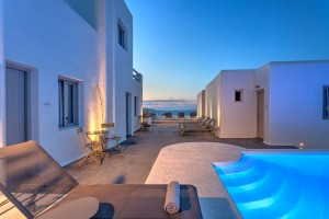 Pool - Hotel Papadakis - Paros, Cyclades Islands, GREECE