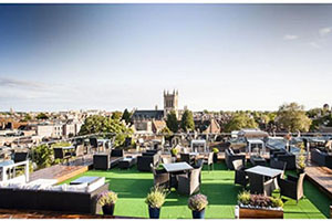Terrace - The Varsity Hotel & Spa - Cambridge, Cambridgeshire, UNITED KINGDOM