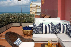 Terrace - Hotel Casa Don Sancho - Cartagena, KOLUMBIEN