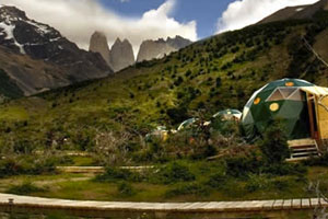 Suite Domes (28m²/300ft²) - Ecocamp Patagonia - Torres del Paine, Magallanes y Antártica Chilena, CHILI
