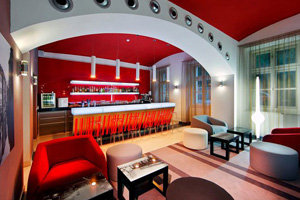 Red & Blue Design Hotel Prague