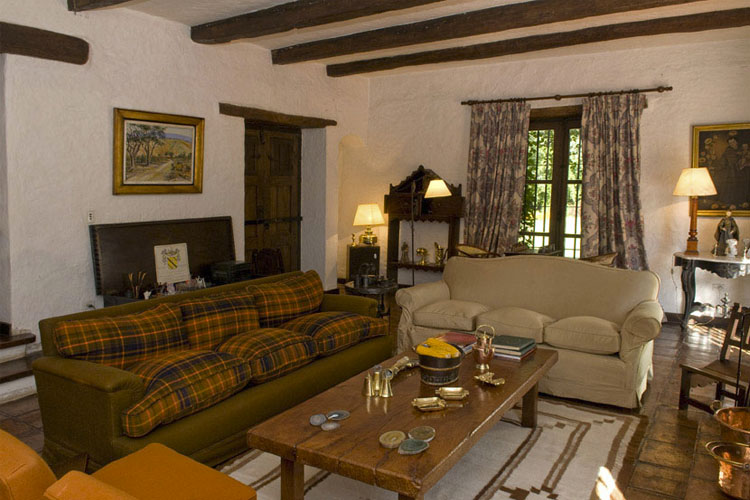 Living Room - Finca San Antonio - Chicoana