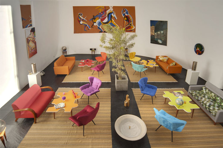 Lounge - Les Jardins de Rio - Cosme Velho