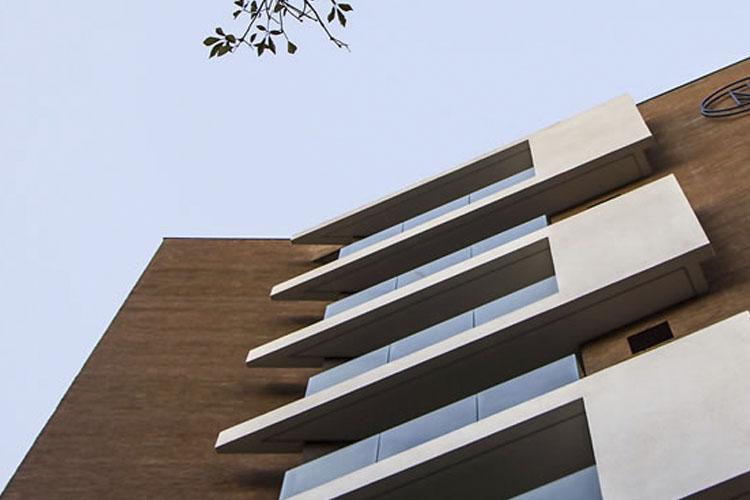 Facade - Nomaa Hotel - Curitiba