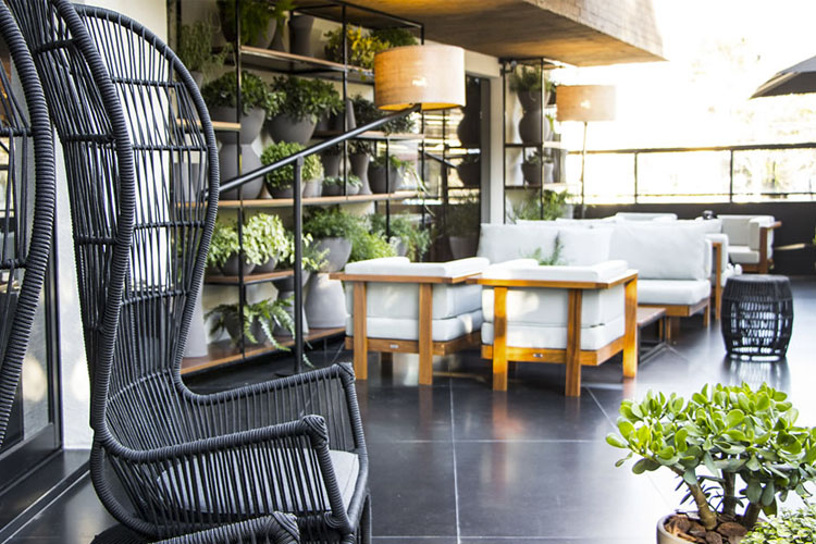 Exterior Dining Room - Nomaa Hotel - Curitiba